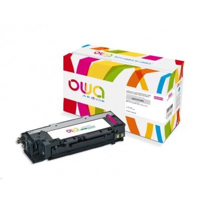OWA Armor toner pro HP Color Laserjet 3500, 3550, 3700, 4000 Stran, Q2673A, červená/magenta