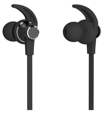 Aligator Bluetooth stereo sluchátka MST4, port na SD kartu, černá