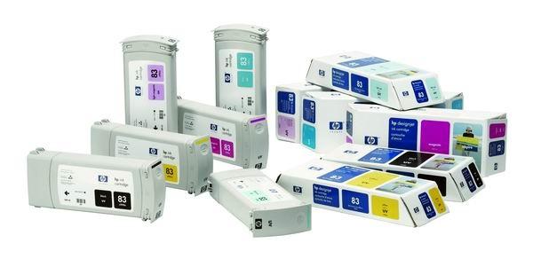 HP 83 Light Magenta UV DJ Ink Cart, 680 ml, C4945A