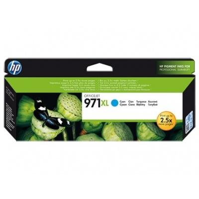 HP 971XL Cyan Ink Cart, 6 600 stran, CN626AE