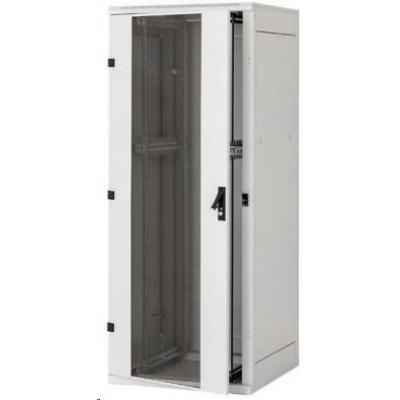 """TRITON 19"""" stojanový rozvaděč 45U/800x1000, přední i zadní dveře perforované 80%"""