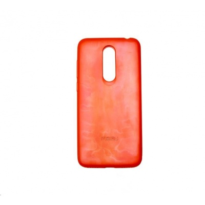 MEIZU TPU zadní kryt + HD ochranná folie pro Meizu M6T, oranžová