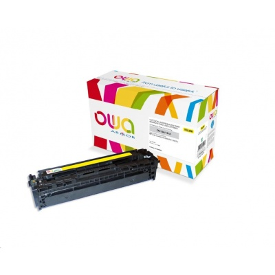 OWA Armor toner pro HP Color Laserjet Pro 200 M251, M276, 1800 Stran, CF212A, žlutá/yellow