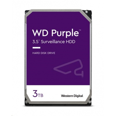 WD PURPLE WD30PURZ 3TB SATA/600 64MB cache, Low Noise, CMR