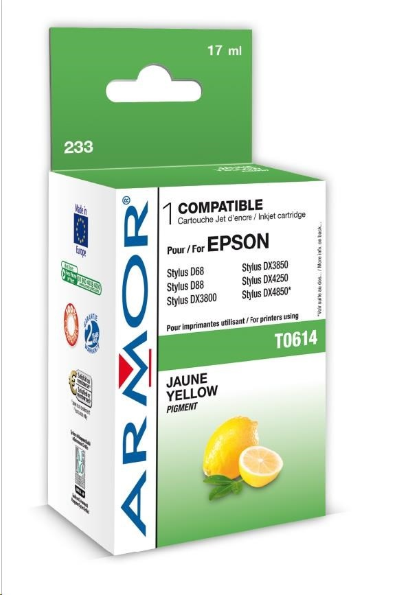 ARMOR cartridge pro EPSON Stylus D68/88/DX3800/4800 Yellow (T061440)