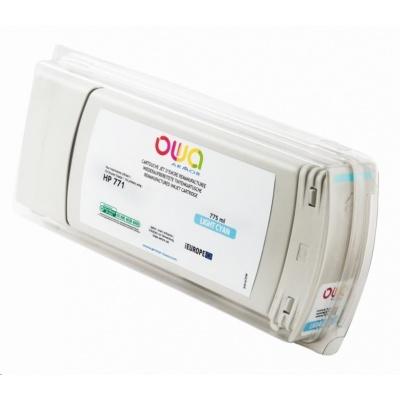 OWA Armor cartridge pro HP DesignJet Z 6200, 6600, 6800, 775ml, B6Y12A, light Cyan