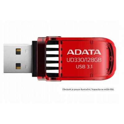 ADATA Flash Disk 64GB USB 3.1 DashDrive™ UD330, červený