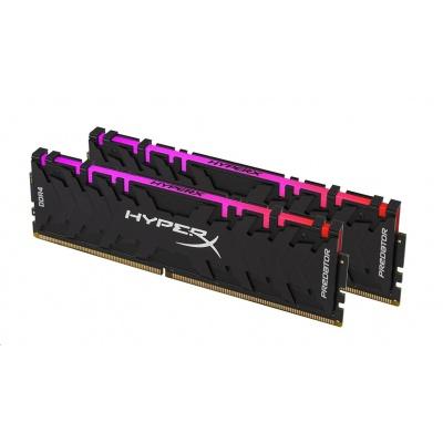 DIMM DDR4 16GB 4000MHz CL19 (Kit of 2) XMP KINGSTON HyperX Predator RGB