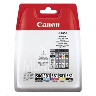 Canon BJ CARTRIDGE PGI-580/CLI-581 BK/CMYK MULTI BL