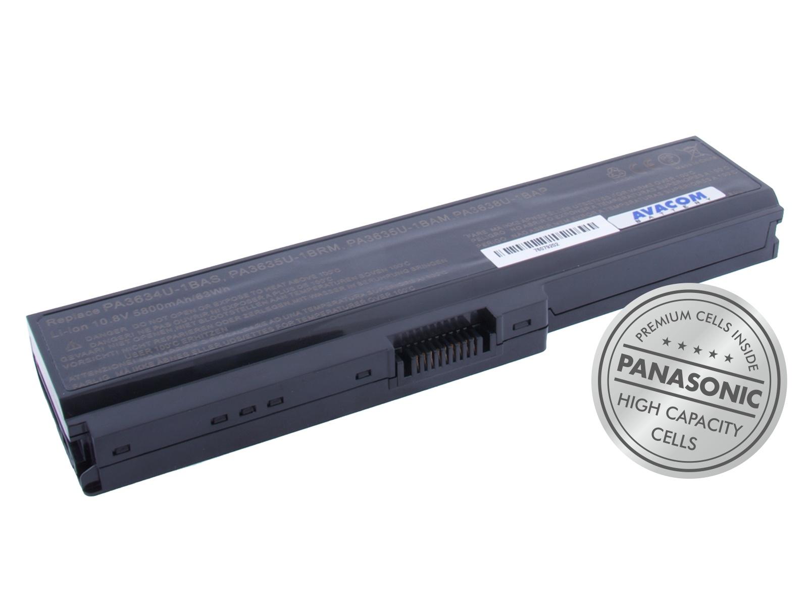 AVACOM baterie pro Toshiba Satellite U400, M300, Portege M800 Li-Ion 10,8V 5800mAh 63Wh