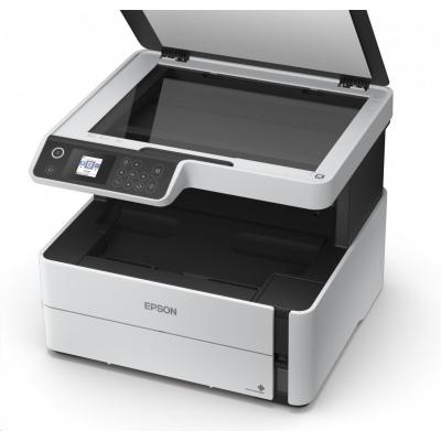 EPSON tiskárna ink EcoTank Mono M2140, 3v1, A4, 1200x2400dpi, 39ppm, USB, Duplex, 3 roky záruka po registraci