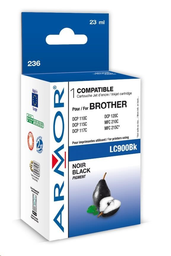 ARMOR cartridge pro BROTHER DCP-110/115 Black (LC900BK)