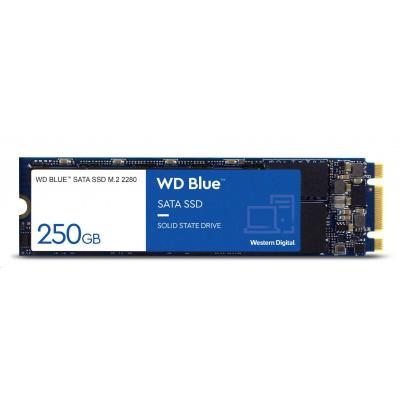 WD BLUE SSD 3D NAND WDS250G2B0B 250GB M.2, (R:550, W:525MB/s)