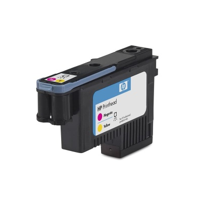 HP 70 Magenta + Yellow DJ Printhead, C9406A