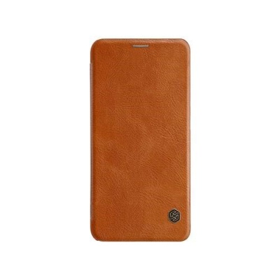 Nillkin Qin Leather Case pro Xiaomi Mi 8 Brown