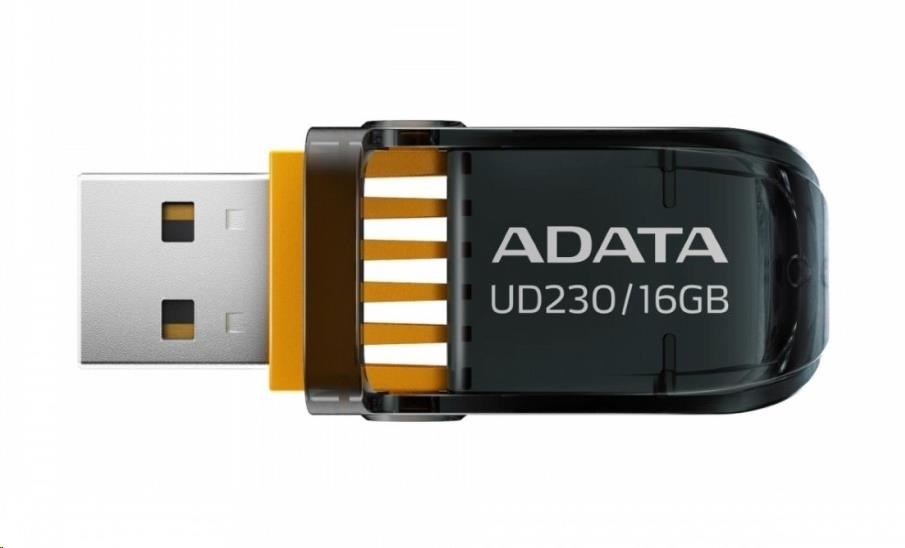 ADATA Flash Disk 16GB USB 2.0 DashDrive™ UD230, černý