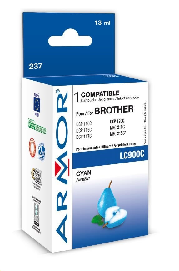 ARMOR cartridge pro BROTHER DCP-110/115 Cyan (LC900C)