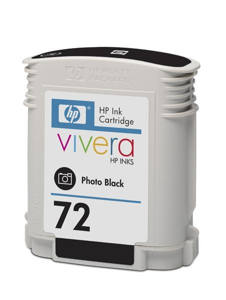 HP 72 Black photografic DJ Ink Cart, 69 ml, C9397A