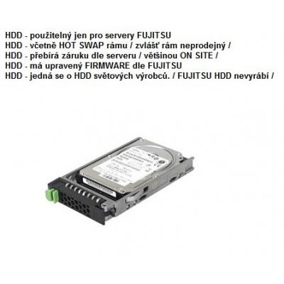 FUJITSU HDD SRV HD SAS 12G 600GB 15K HOT PL 2.5' EP pro RX2520M4