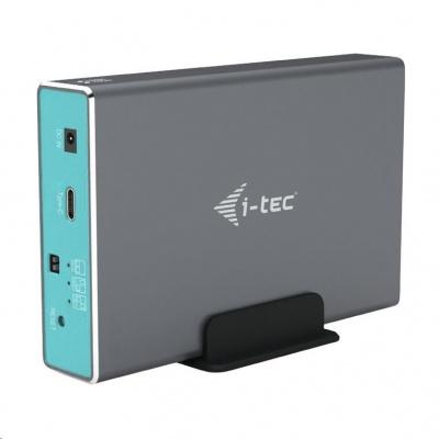 """iTec MySafe USB-C 3.1 Gen. 2 / USB 3.0, externí rámeček pro 2x 2,5"""" SATA HDD/SSD"""