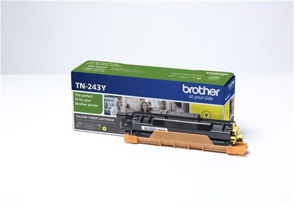 BROTHER Toner TN-243Y - PRO HLL3210 HLL3270 DCPL3510 DCPL3550 MFCL3730 MFCL3770 - cca 1000stran