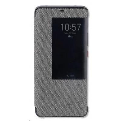 4smarts flipové pouzdro Smart Cover pro Huawei Mate 20 Pro, šedá