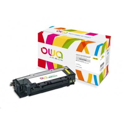 OWA Armor toner pro HP Color Laserjet 3500, 3550, 3700, 4000 Stran, Q2672A, žlutá/yellow