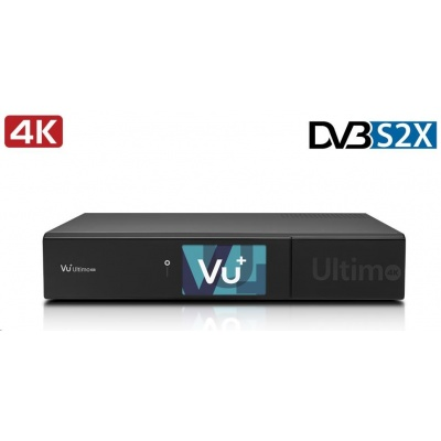 VU PLUS VU+ ULTIMO 4K (1x Dual FBC-S/S2/S2X tuner)