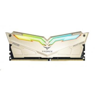 DIMM DDR4 16GB 3466MHz, CL16, (KIT 2x8GB), T-FORCE Night Hawk Legend RGB (Sparkling Gold) AMD