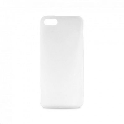 """Smartline zadní kryt pro iPhone 5/5s/SE ULTRA-SLIM """"0.3"""" s fólií na displej, transparentní"""