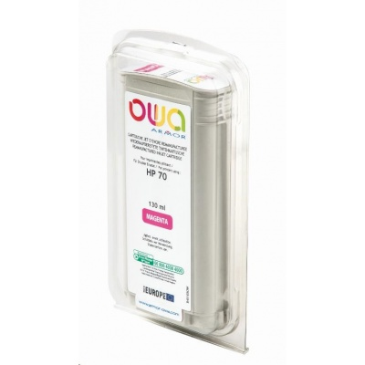 OWA Armor cartridge pro HP DesignJet Z 2100, 3100, 130ml, C9453A, Magenta