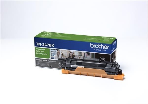 BROTHER Toner TN-247BK - PRO HLL3210 HLL3270 DCPL3510 DCPL3550 MFCL3730 MFCL3770 - cca 3000stran
