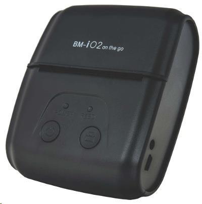 Birch BM-i02 Mobilní tiskárna účtenek, BT, USB, RS232 + POUZDRO
