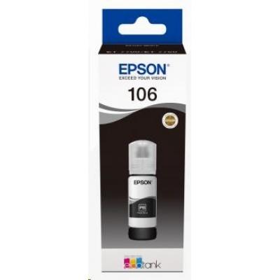 EPSON ink čer 106 EcoTank Photo Black ink bottle