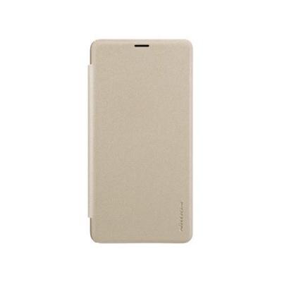 Nillkin Sparkle Leather Case pro Xiaomi Mi Max 3 Gold