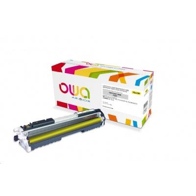 OWA Armor toner pro HP Laserjet Pro CP1025, Pro100 M175, Pro200 M275, 1000 Stran, CE312A, žlutá/yellow