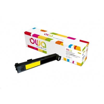 OWA Armor toner pro HP Color Laserjet CP6015, CM6030, CM6040, 21000 Stran, CB382A, žlutá/yellow