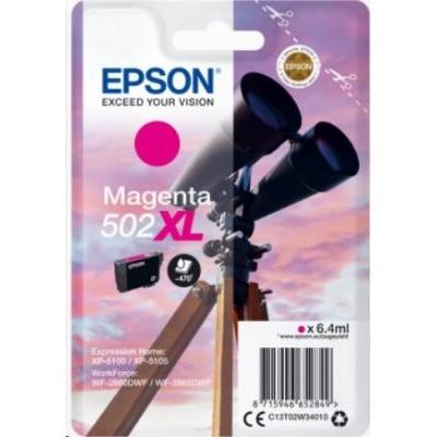 "EPSON ink bar Singlepack ""Dalekohled"" Magenta 502XL Ink"