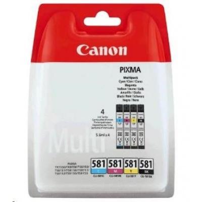 Canon BJ CARTRIDGE CLI-581 BK/C/M/Y PHOTO VALUE BLISTER  SEC