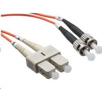 Duplexní patch kabel MM 62,5/125 OM1, SC-ST, LS0H, 3m