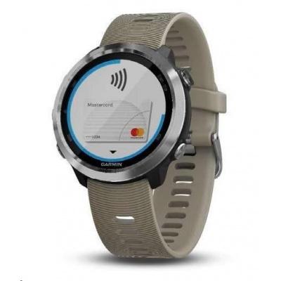 Garmin GPS sportovní hodinky Forerunner 645 Optic, Sandstone
