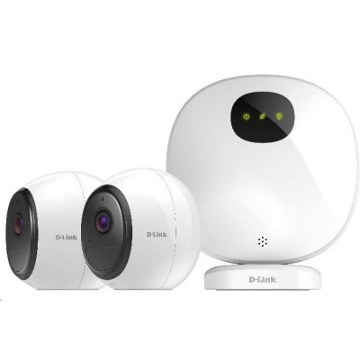 D-Link DCS-2802KT mydlink™ Pro Wire-Free Camera Kit, 2x DCS-2800LH + 1x H100
