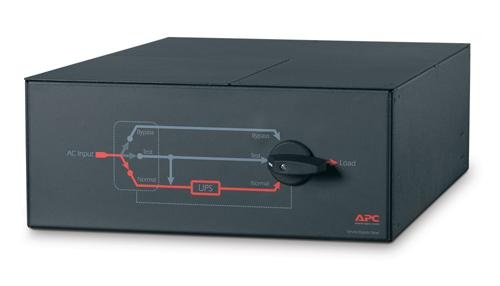 APC Service Bypass Panel- 230V,100A,MBB,Hardwire input,(3) 30A Hardwire Output
