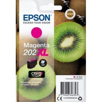 "EPSON ink bar Singlepack ""Kiwi"" Magenta 202XL Claria Premium Ink 8,5 ml"