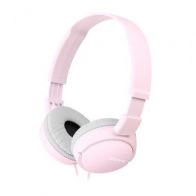 SONY stereo sluchátka MDR-ZX110, růžová