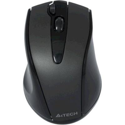 A4tech G9-500F-1 V-track, bezdrátová optická myš, 2.4GHz, 2000DPI, 15m dosah, USB, černá