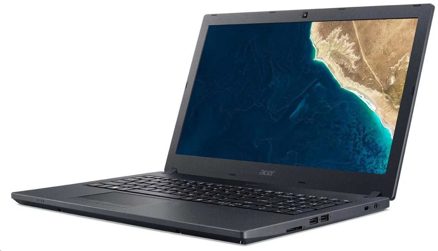 "ACER NTB TMP2510-G2-M-371K - i3-8130U,15.6""FHD IPS,4+4GB,256SSD,HD graphics,noDVD,čt.pk,USB-C,W10P,black,2r on-site"