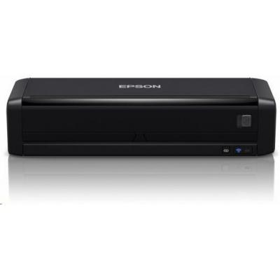 EPSON skener WorkForce DS-360W, A4, 1200x1200dpi,Micro USB 3.0,WI-FI,Baterie- mobilní