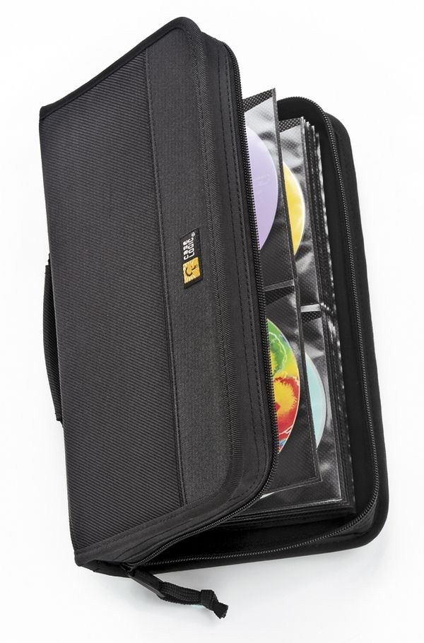Case Logic pouzdro CDW64 pro CD / DVD, kapacita 72 disků, černá