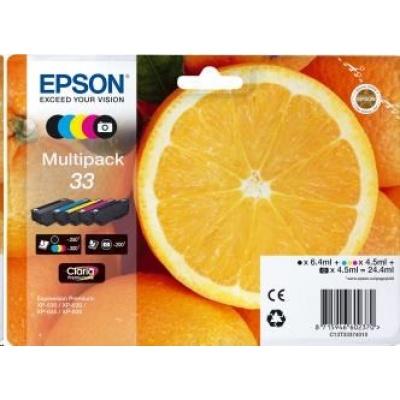 """EPSON ink Multipack """"Pomeranč"""" 5-colours 33 Claria Premium Ink"""